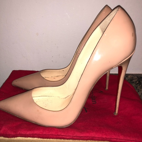 cheap for discount 1cddd 74fb8 Christian Louboutin So Kate 120 Patent